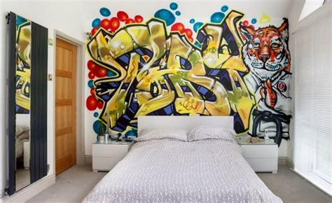 graffiti chambre ado aménagement et déco chambre ado 58 idées pour enfant