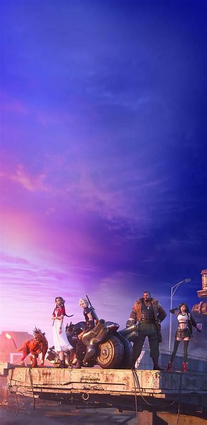 Fantasy Final Remake Vii Phone
