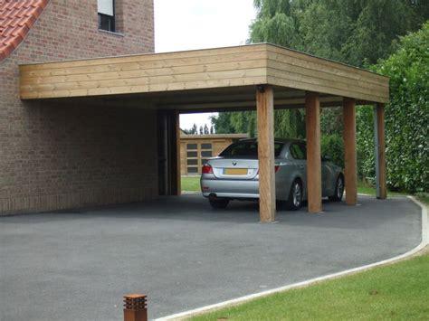 annexe chambre auvent carport bois adossé pas cher vente carports 2 voitures