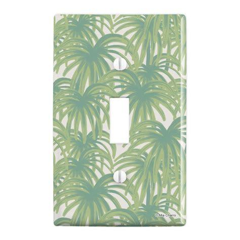 palm tree leaves plastic wall decor toggle light switch plate cover walmartcom walmartcom