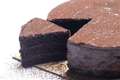 eggless chocolate sponge cake  butterone bowl easy