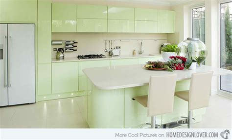 pastel green kitchen 15 pastel green kitchens for a lighter look home design 1421