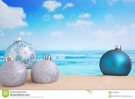 christmas decorations   beach ocean