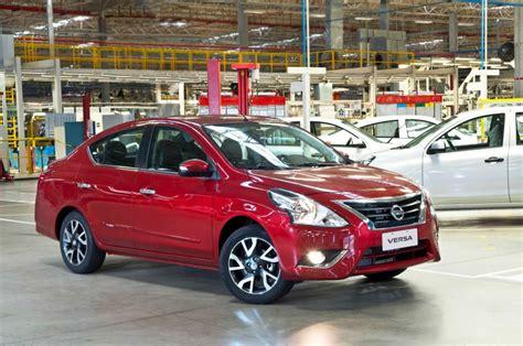 Novo Nissan Versa 2017 Preços E Consumo  Autos Novos