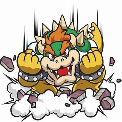Bowser Mario Pinball Super Clipart Land Bros
