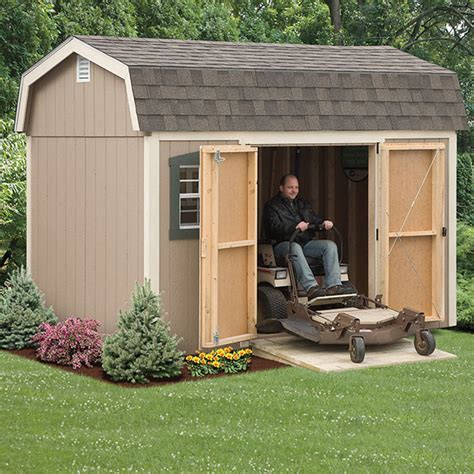 Lawn Mower Storage Shed by Buying Guide Backyard Sheds