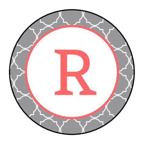 quatrefoil monogram labels label templates ol onlinelabelscom