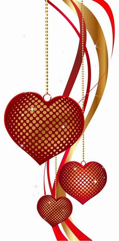 Valentine Hearts Clipart Clip Transparent Heart Border