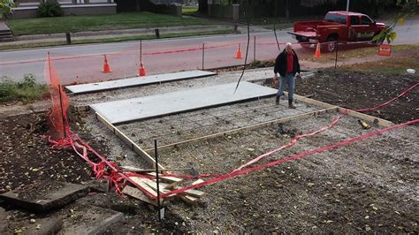 constructing a concrete driveway mr dirt evansville
