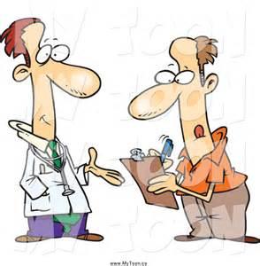 Doctor-Patient Cartoon
