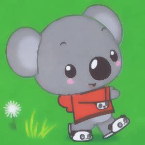 draw tolee koala bear  kai lan  easy steps