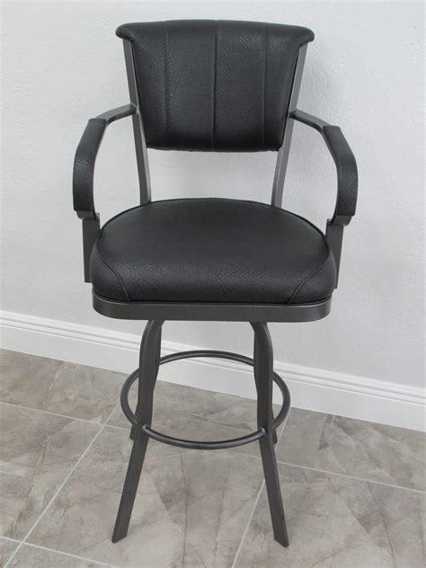 lisa furniture  custom swivel metal bar stool