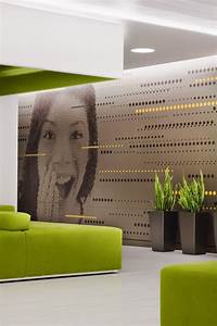 beautiful office interiors of a canadian media company With office wall art