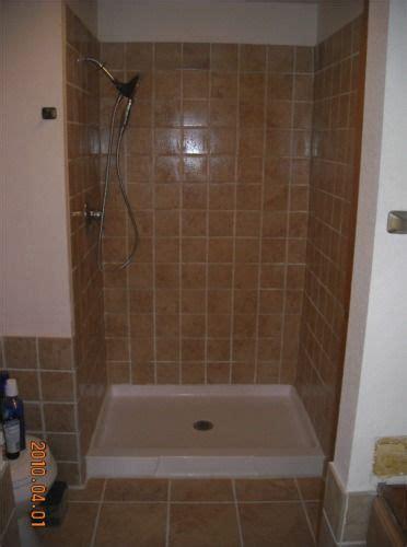 tiled shower stall completed tile shower stall toilet