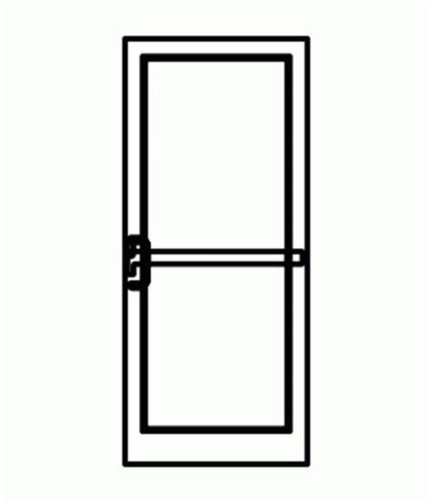 kawneer  medium stile  door