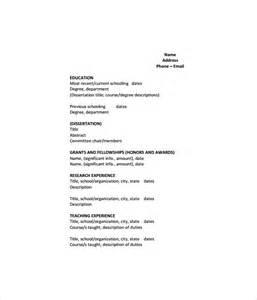 cv format template pdf sle cv 26 documents in pdf word