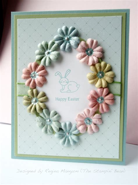 stampin bean march  easter cards handmade