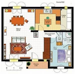 document non trouve erreur 404 faire construire sa maison With faire un plan de maison 1 pavillon classique detail du plan de pavillon classique