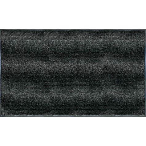 exterior doormat ribbed door mat charcoal 60 in x 36 in floor doormat