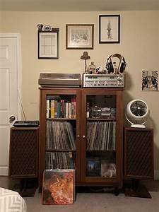 My, Bedroom, Setup, Vintageaudio