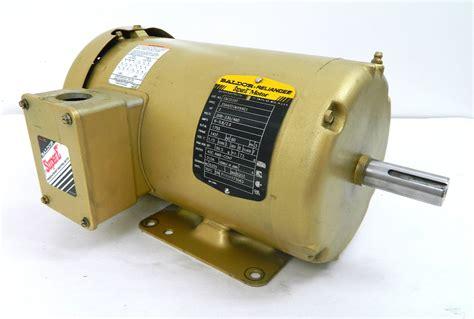Baldor Emt Electric Motor Rpm Vac