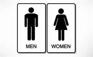DealDey - Toilet Door Signs