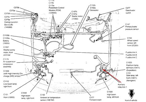2000 Expedition Wire Diagram Hvac by 2006 Ford Expedition No Ac Of Freon Preasure Correct