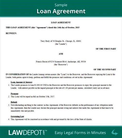 template loan agreement  family members