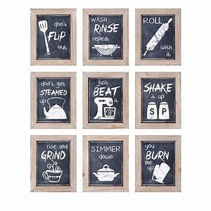 best 25 kitchen wall art ideas on pinterest kitchen art With kitchen colors with white cabinets with funny wall art quotes