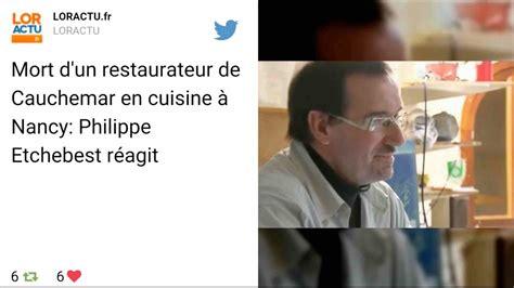 restaurant rethel cauchemar en cuisine un candidat de cauchemar en cuisine retrouvé mort dans