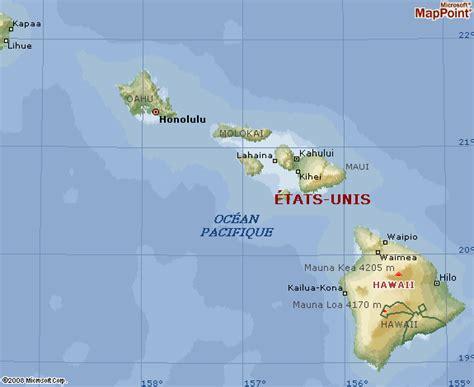 Hawaii Carte Du Monde by Infos Sur Situer Hawaii Sur Une Carte Du Monde Arts Et