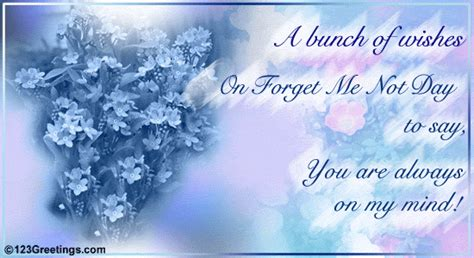 bunch  wishes  forget   day ecards greeting cards