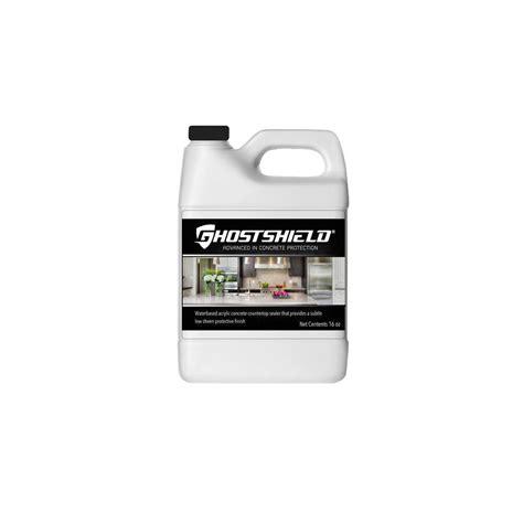 concrete countertop sealer ghostshield 16 oz concrete countertop sealer with low