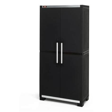 Utility Cabinet Home Depot by Keter 35 In X 74 In Wide Xl Freestanding Plastic Utility
