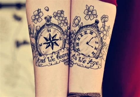 greatest matching tattoos  couples  individuals