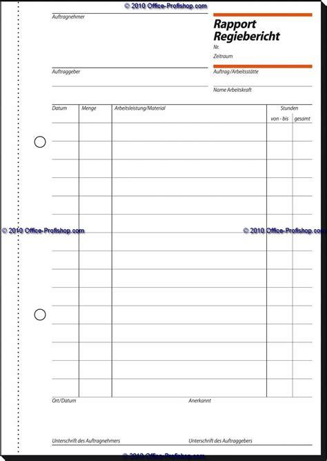sigel rapportregiebericht  inkl blaupapier