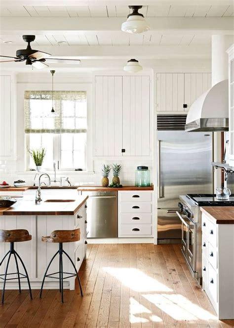 cuisine blanche  idees tendances  pour votre cuisine