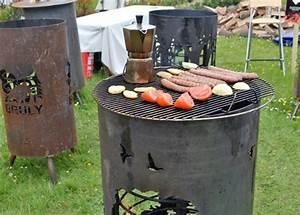Brasero De Jardin : barbecue qui d core le jardin brasero et meuble de jardin ~ Teatrodelosmanantiales.com Idées de Décoration