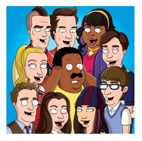 deck the halls glee cast chris colfer the cleveland show wiki seth macfarlane s