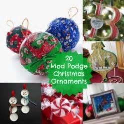 20 mod podge diy christmas ornaments mod podge rocks