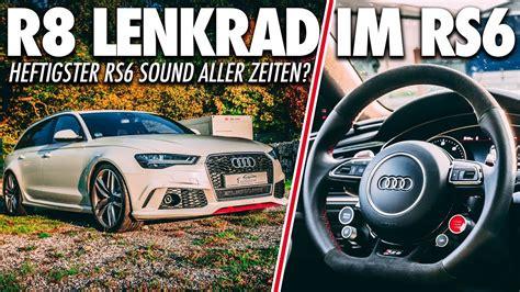 audi r8 lenkrad nicht zu toppen audi rs6 performance sound r8 lenkrad klappensteuerung cete automotive