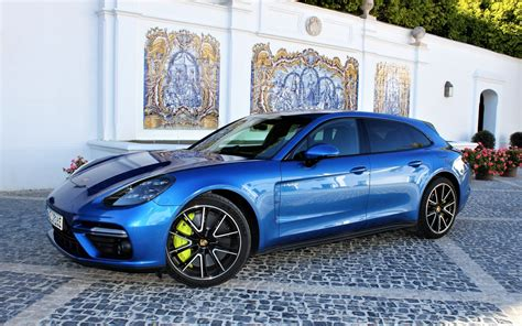 The panamera turbo comes in two flavors, and the more powerful one is a hybrid. 2018 Porsche Panamera Turbo S E-Hybrid Sport Turismo: Green Porsche Power - The Car Guide