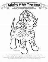 Coloring Pages Fire Safety Prevention Dog Sparky Week Printable Choking Tuesday Template Insertion Dulemba Library Getcolorings Personal Codes sketch template
