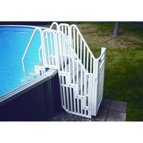 escalier protection piscine hors sol accessoires piscines hors sol 538 piscineo