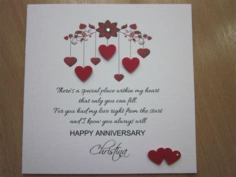 Personalised Handmade Anniversary Engagement Wedding Day