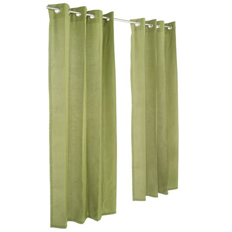 outdoor curtains with grommets spectrum cilantro grommeted sunbrella outdoor curtains
