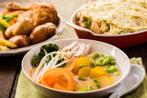 cuisiner un poulet entier recettes santé avec un poulet cuit entier trois repas