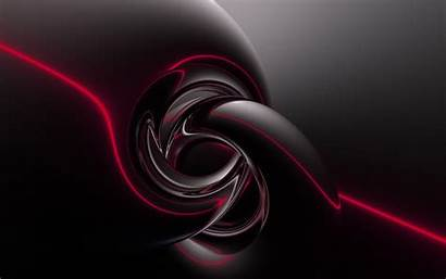 Abstract Dark Fractal Background Wallpapers Wall Abyss