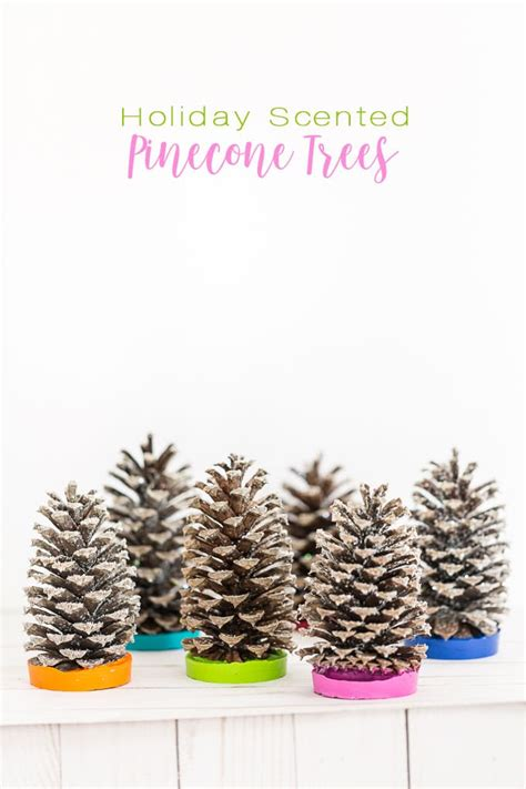 walmart christmas trees small colorful christmas scented pine cone trees in my own style