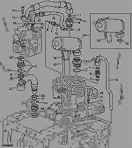 Hydraulic Oil Reservoir  Oil Lines